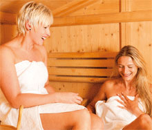 Sauna + Wellness